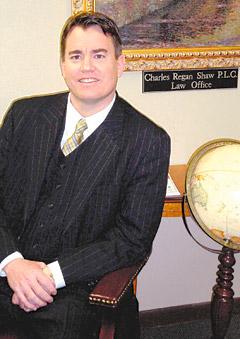Charles Regan Shaw, PLC